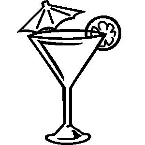 Martini clipart logo. Best images on
