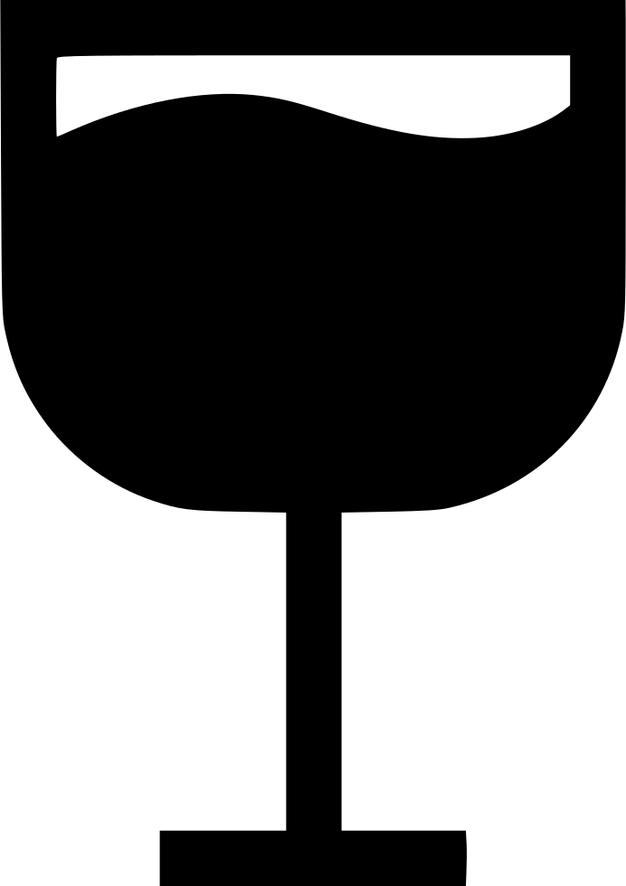 Glass drink svg icon. Martini silhouette png png library