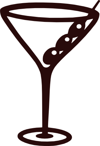 Martini silhouette png. User posted image free