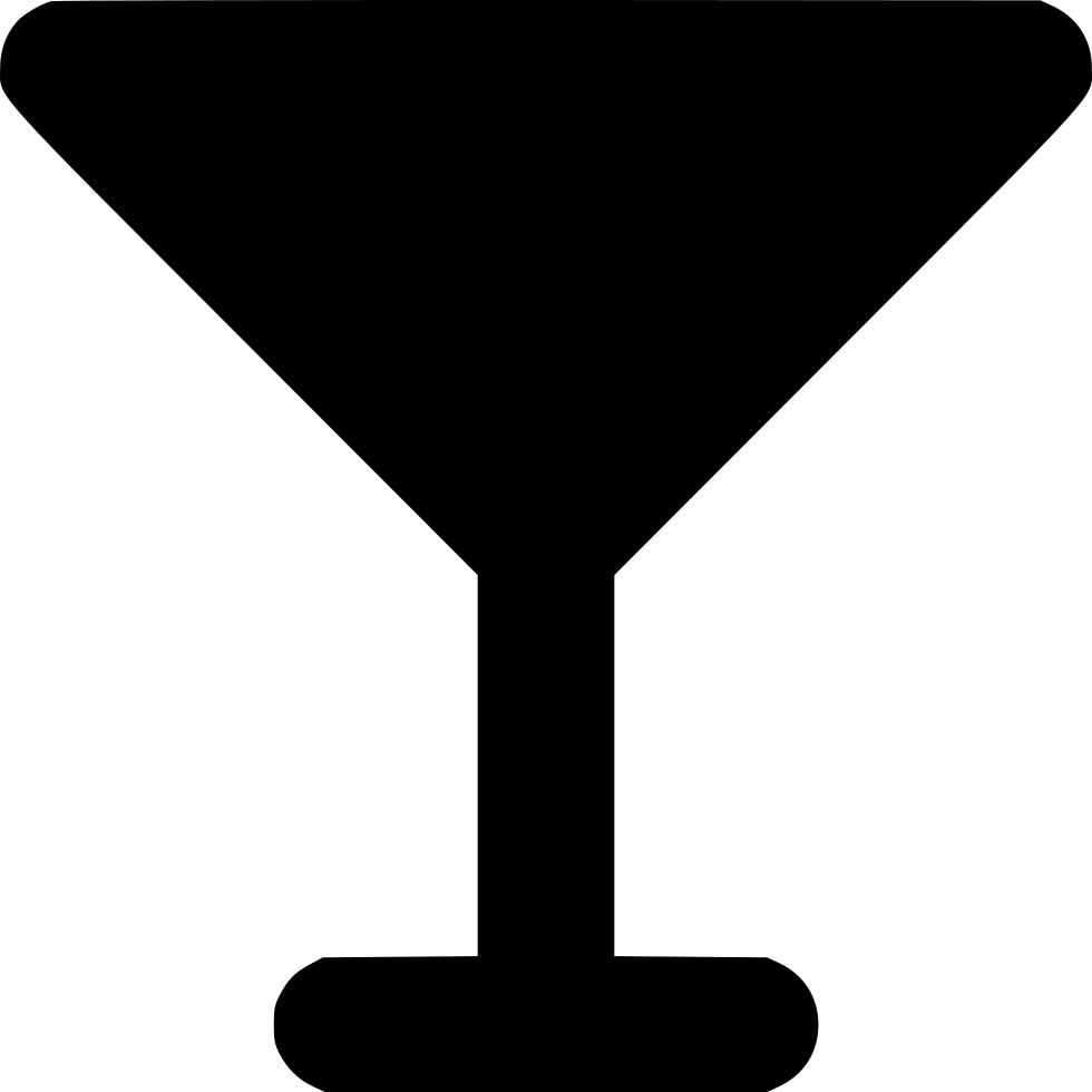 Martini silhouette png. Svg icon free download