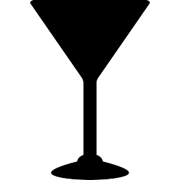 Martini silhouette png. Free svg glass