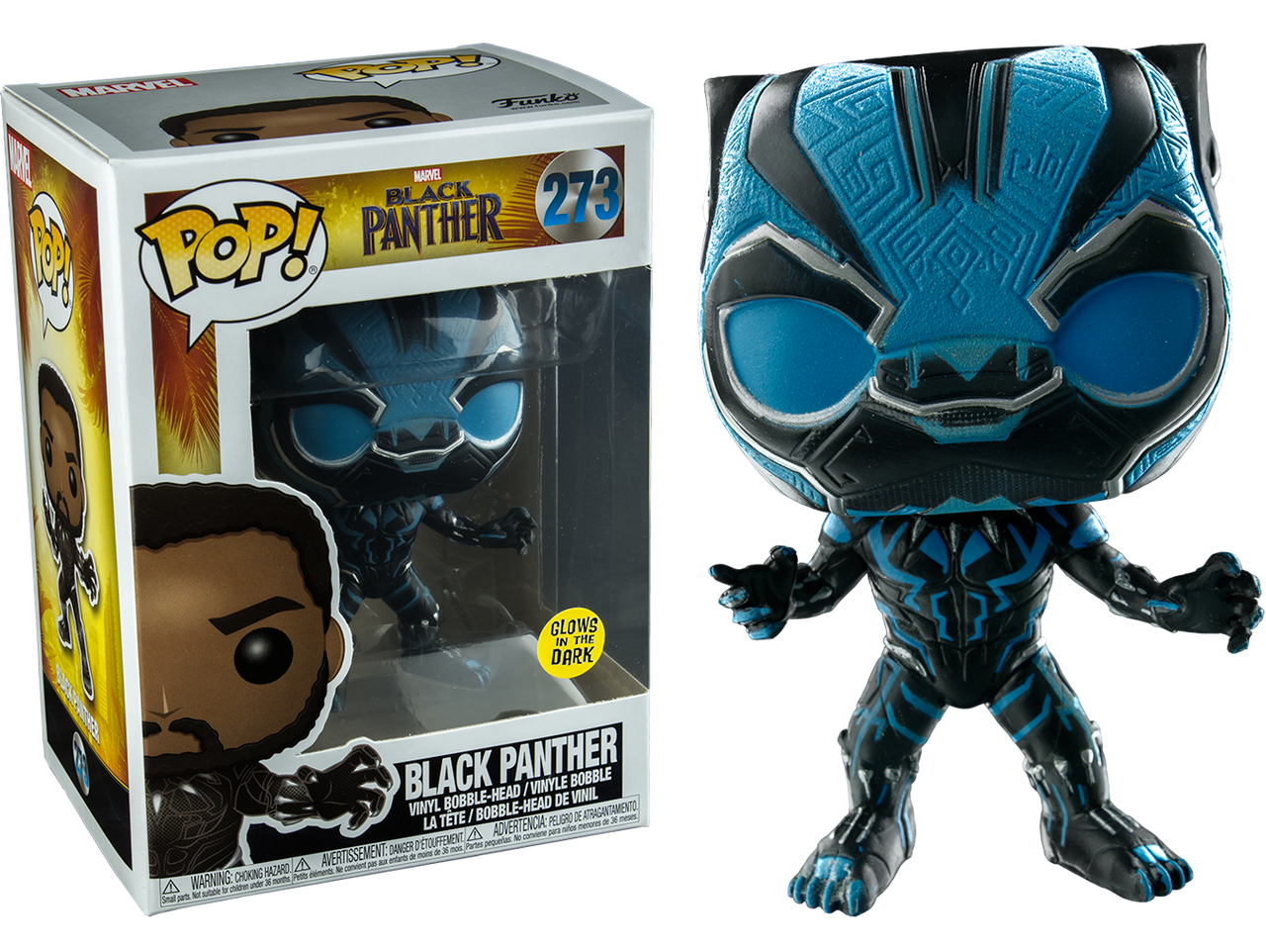 Marvel black panther head png. Blue glow us exclusive