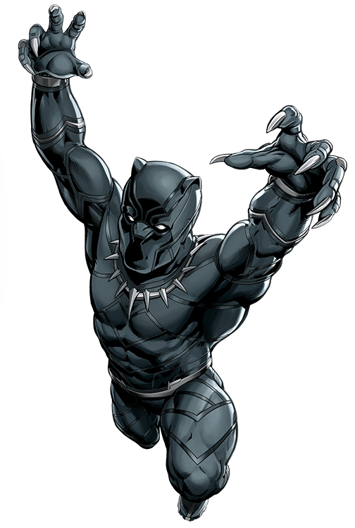 Marvel black panther png. Image usa avengers herochi