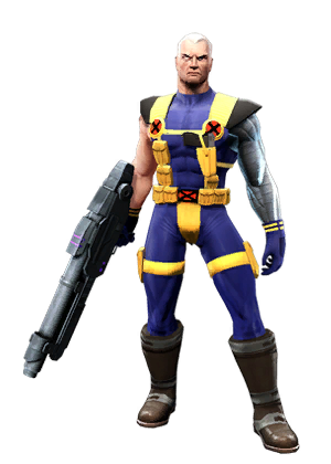 Marvel cable png. Classic x force costume