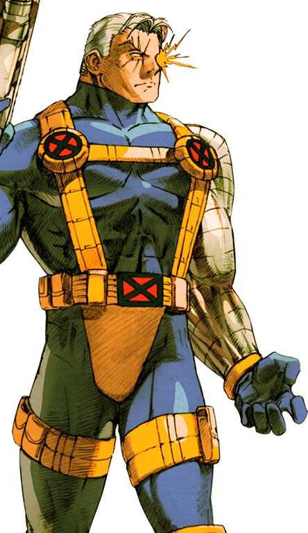 Marvel cable png. Vs capcom by hes