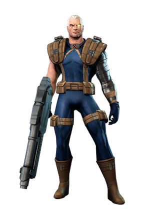 Marvel cable png. Character token heroes omega