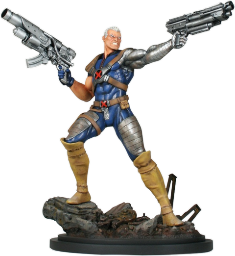 Marvel cable png. Action polystone statue by