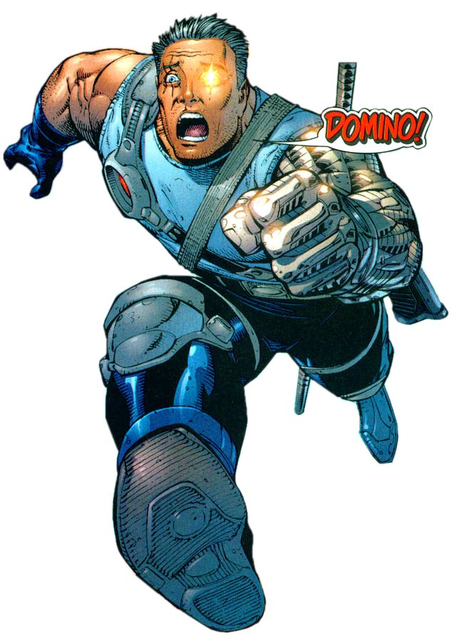 Marvel cable png. Image earth database fandom