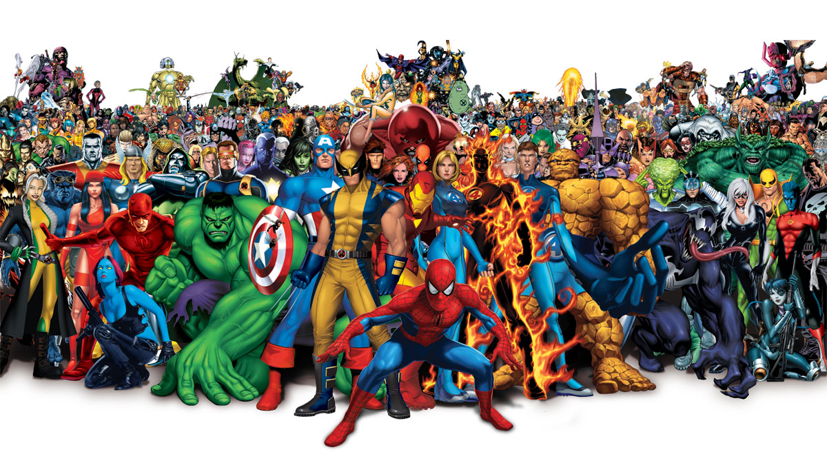 Marvel character png. Top greatest characters of