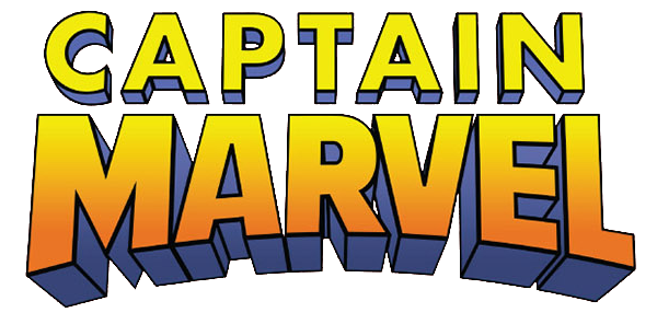 Image vol comics wiki. Captain marvel logo png clip black and white