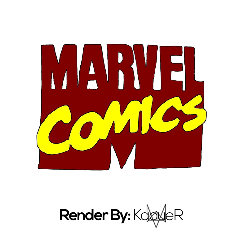 Render by kaauer on. Marvel comics logo png image free library