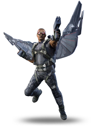 Marvel falcon png. Image f wintersoldier heroes