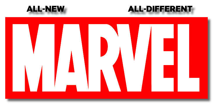 Marvel logo png. Image all new different