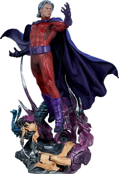 Marvel magneto png. Maquette by sideshow collectibles
