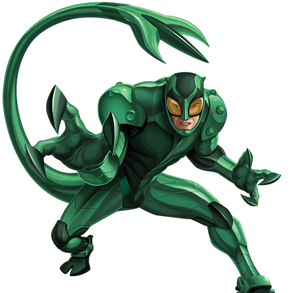 Marvel scorpion png. And dc dragonball spiderman