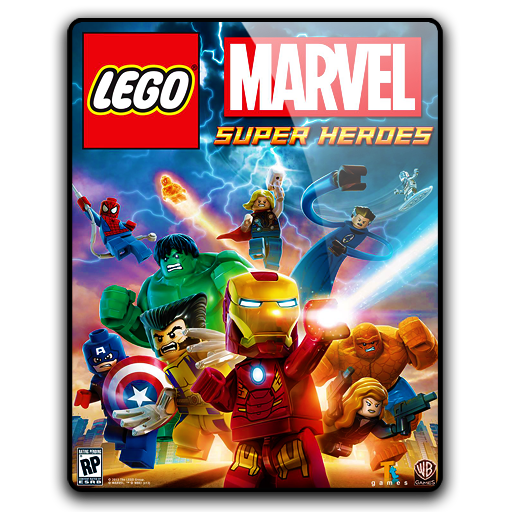 Marvel super heroes png. Lego icon ico psd