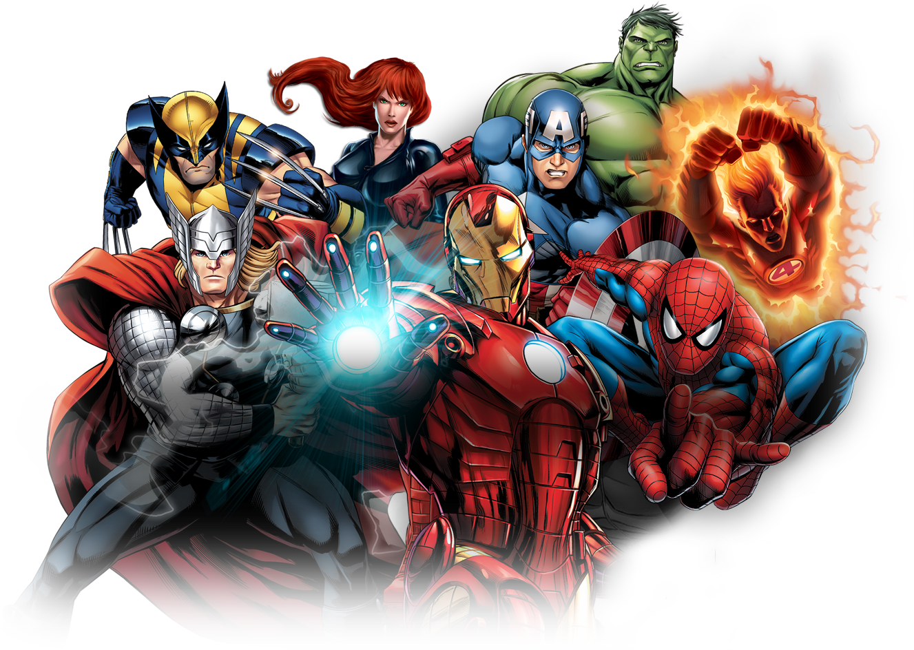 Marvel super heroes png. Transparent images pluspng pngpluspng