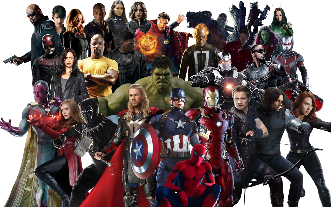 Marvel superheroes png. Home to transparent an