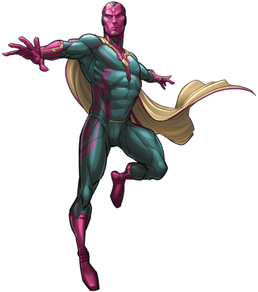 Marvel vision png. Transparent mart