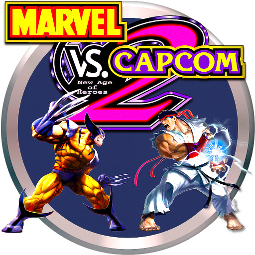 Marvel vs capcom 2 logo png. New age of heroes