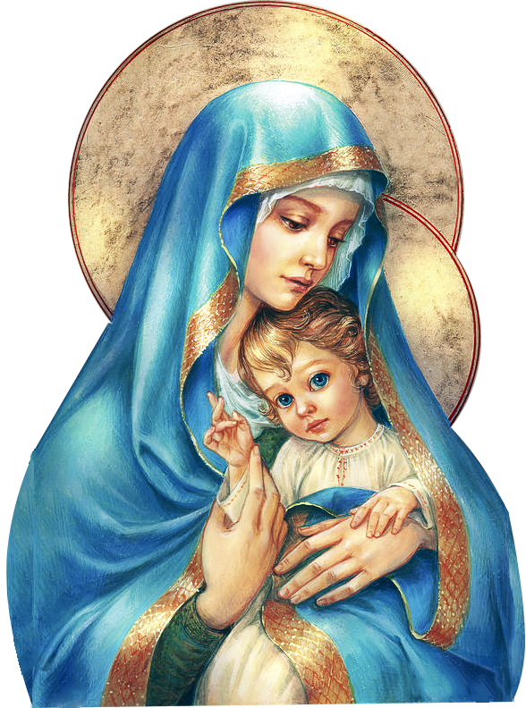mary mother of god png