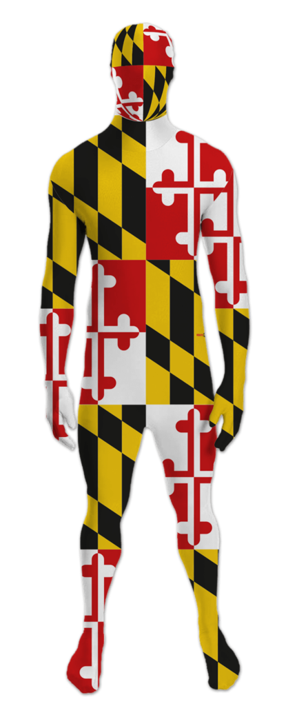 Maryland flag png. Morph suit route one