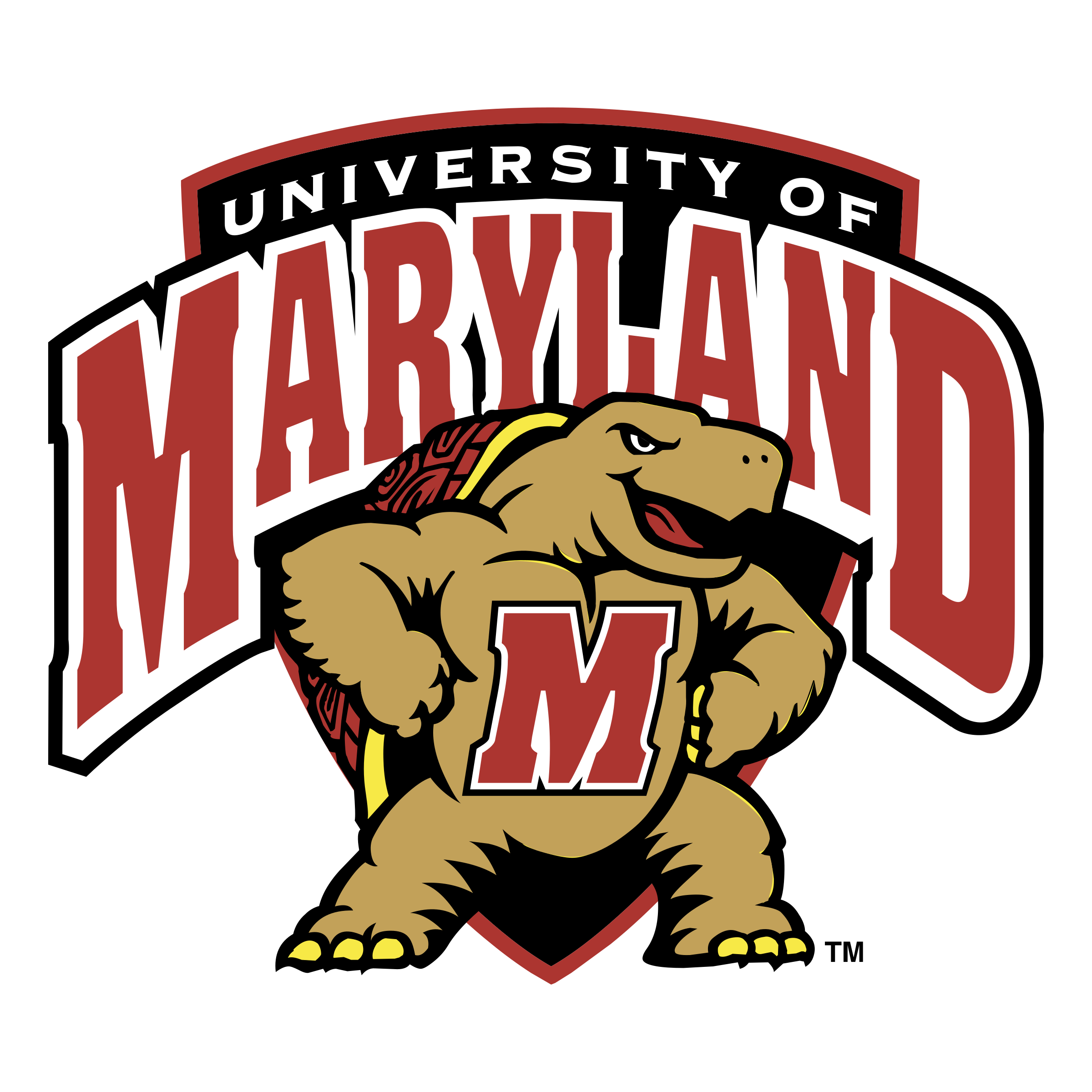 Maryland vector svg. Terps logo png transparent