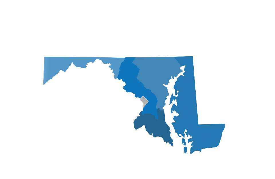 Maryland vector map. Visit official site of