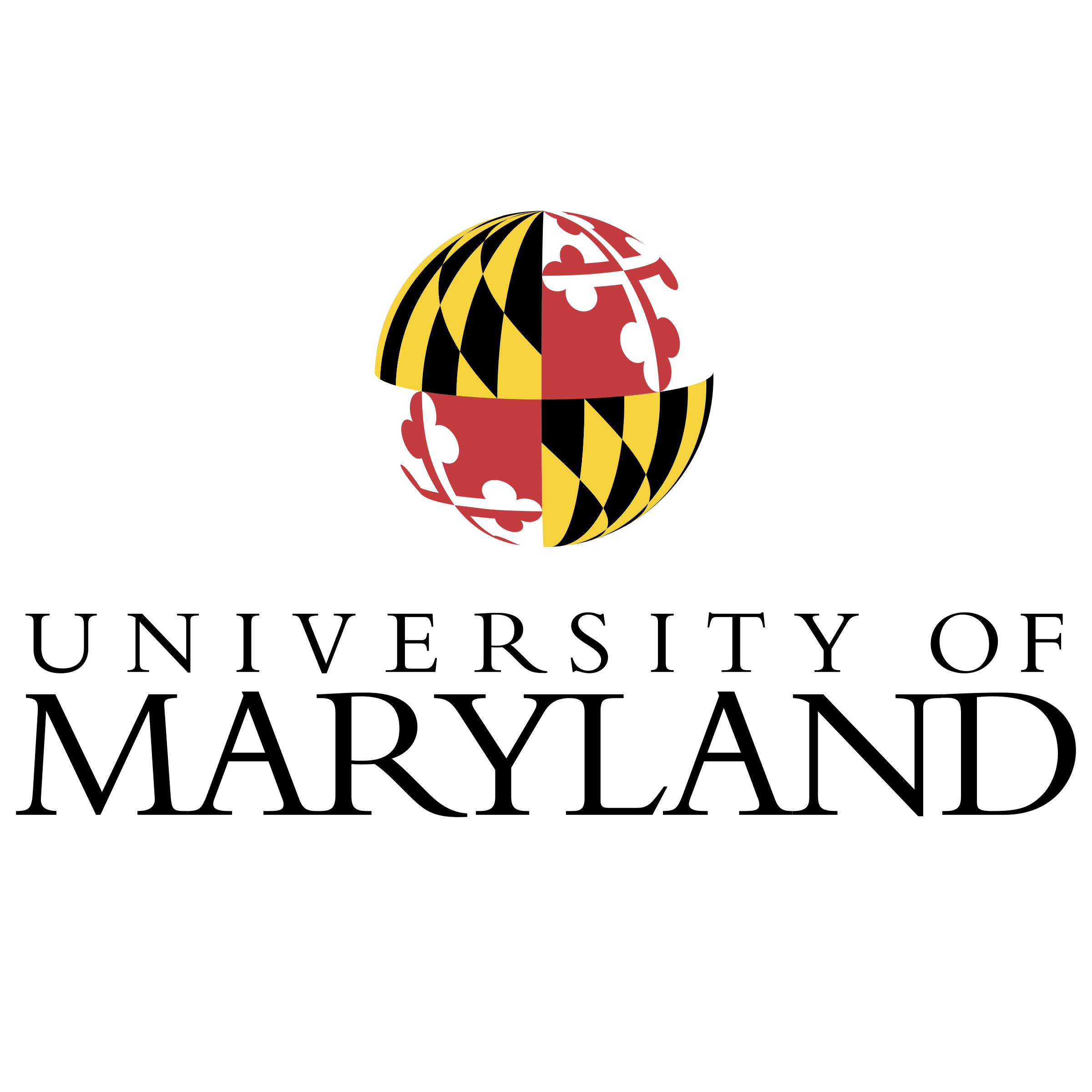 Maryland vector transparent. University of logo png