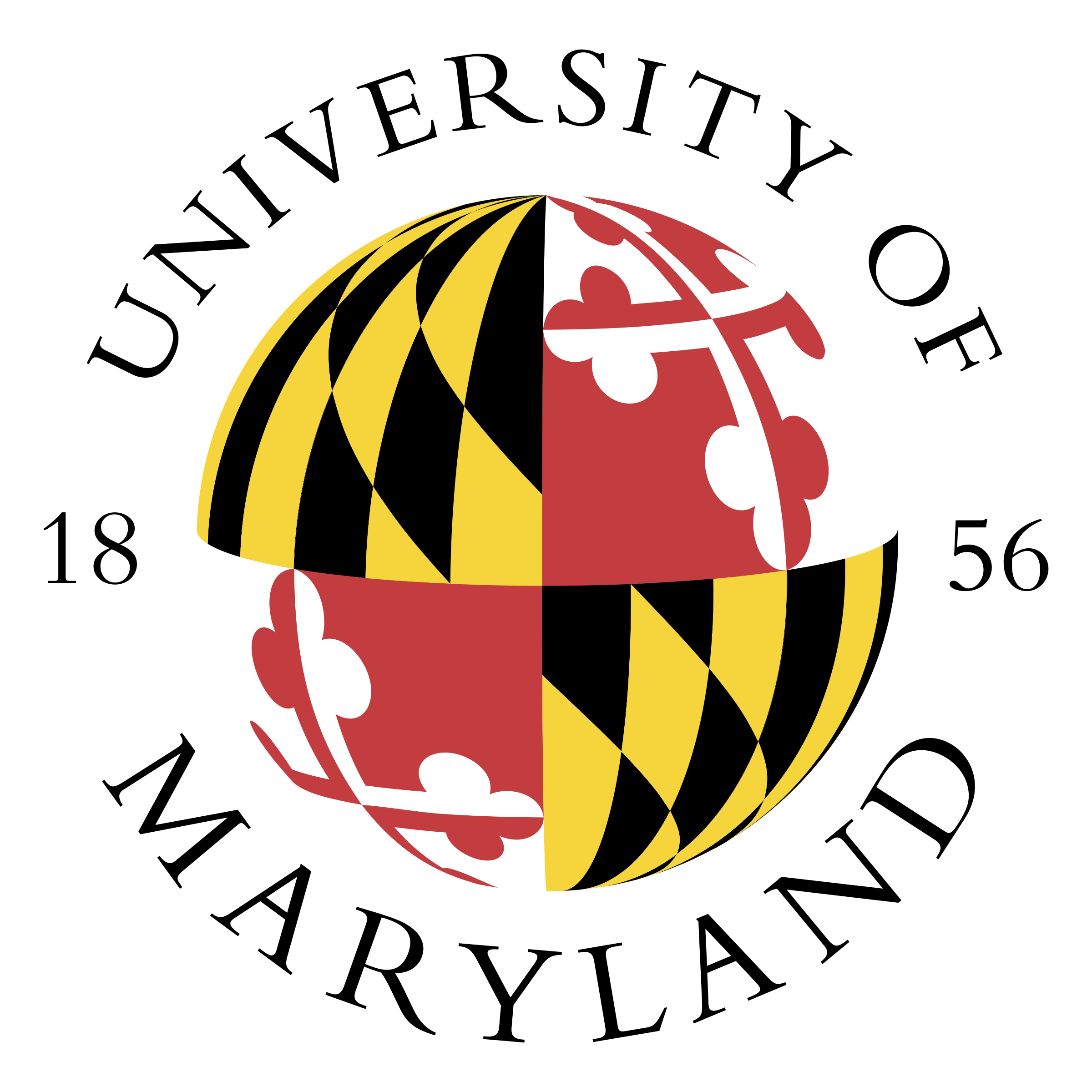 Maryland vector university. Of logo png transparent