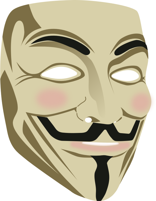 V for vendetta mask png. Anonymous image purepng free