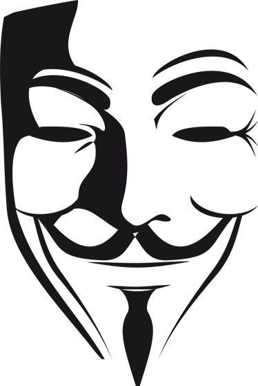anonymous vector mask guy fawkes