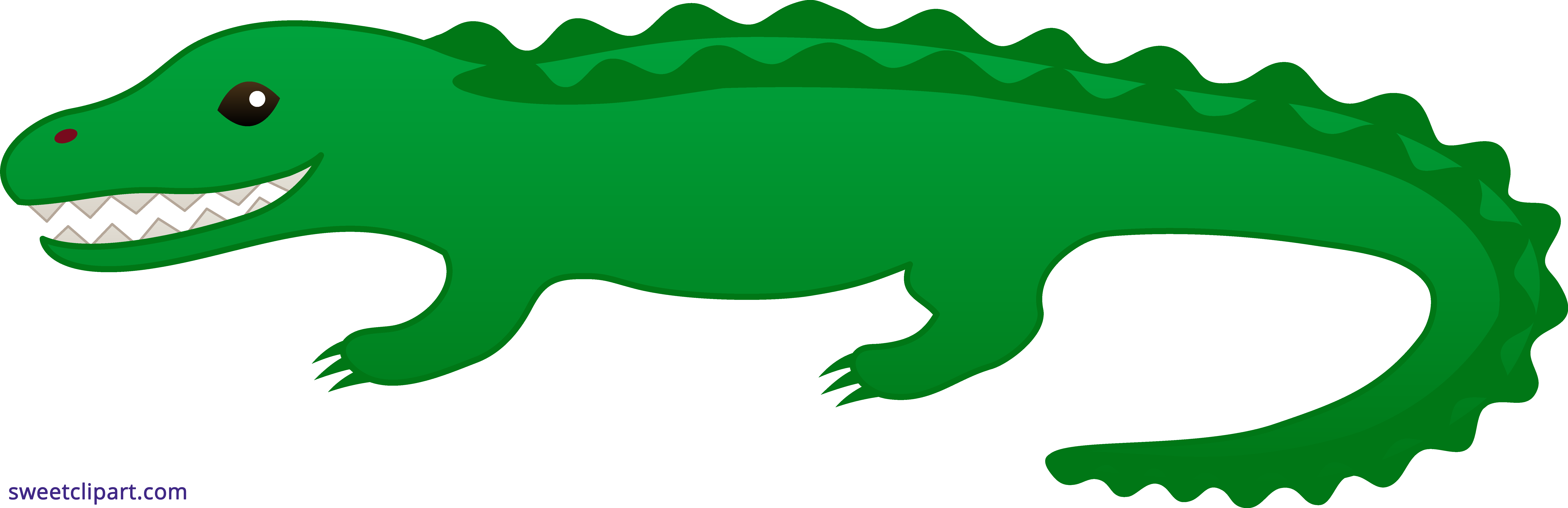 Mascot vector alligator. Nile crocodile clipart at