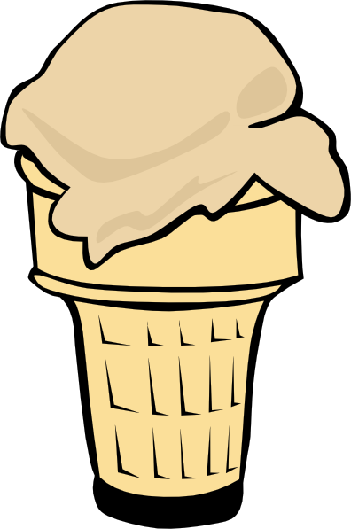 Mascot vector ice cream. Cone clipart at getdrawings