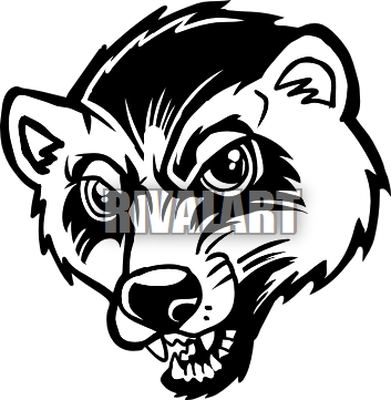 Mascot drawing wolverine. Mascots google search qhs