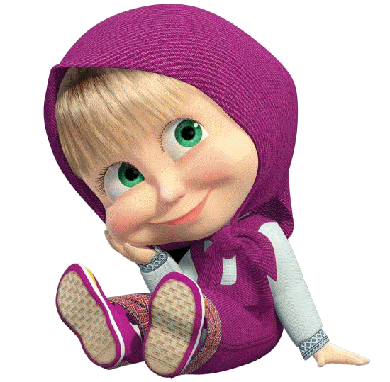 Masha and the bear png. Transparent pictures free icons