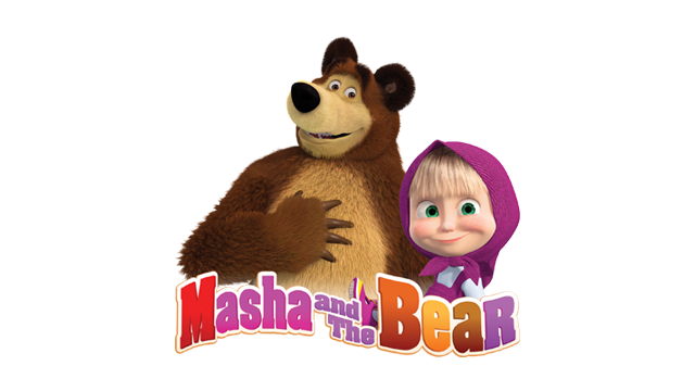 Ink. Masha and the bear png svg black and white download