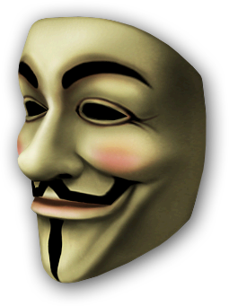 Anonymous vector mask guy fawkes. Png