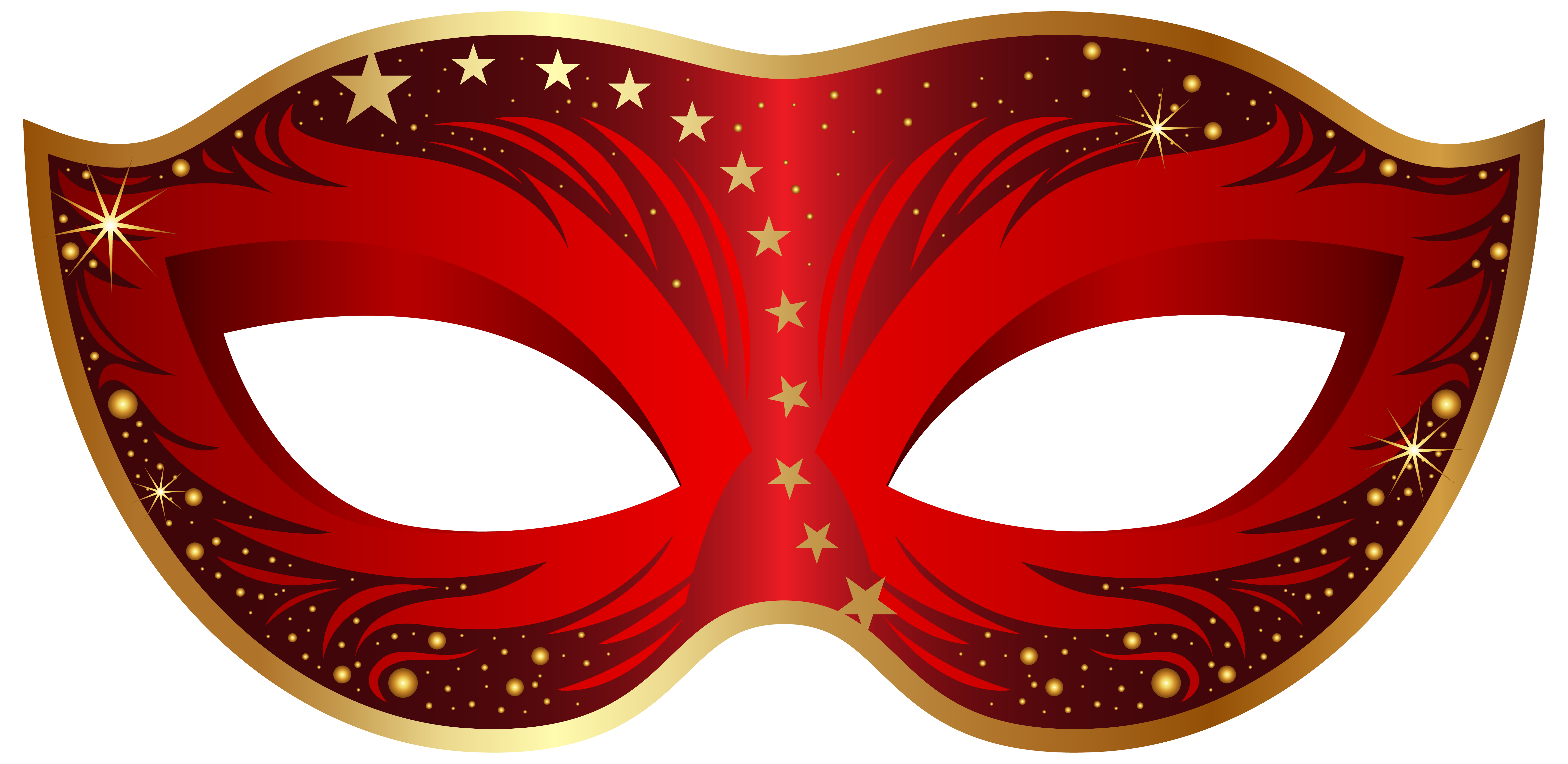 Red carnival png clip. Mask clipart clipart freeuse download