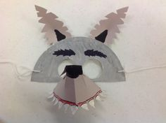 Mask clipart big bad wolf. Create a simple using