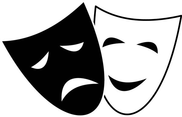 Drama . Mask clipart cinema jpg freeuse
