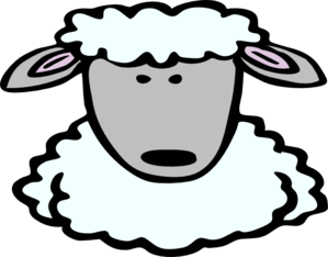 Free sheep head cliparts. Mask clipart lamb image library library