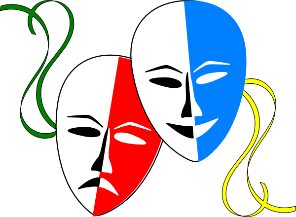 Free theatre download clip. Mask clipart mood disorder vector transparent download