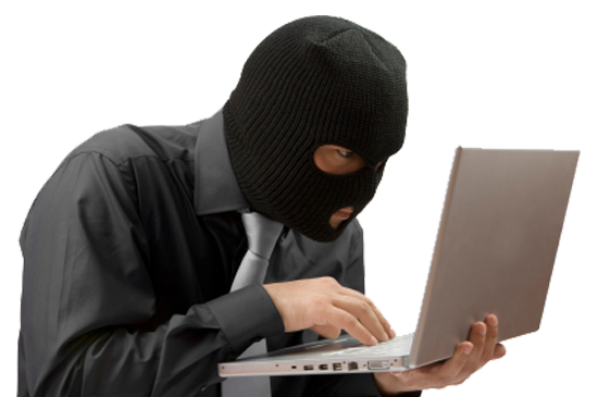 Mask clipart robber. Computer thief picture