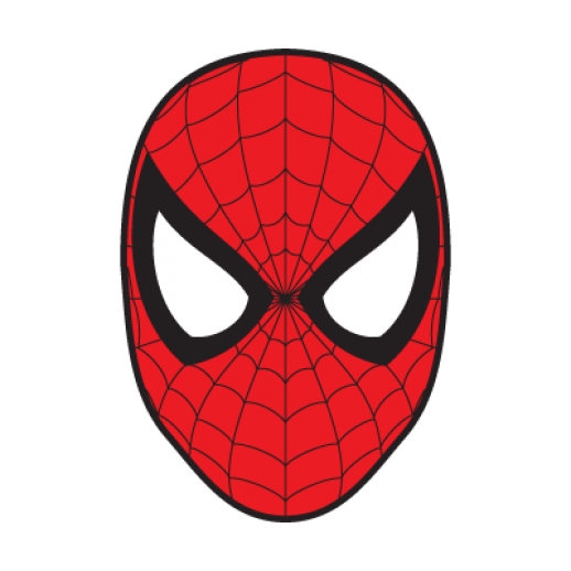 Free spiderman face download. Mask clipart spider man graphic library download