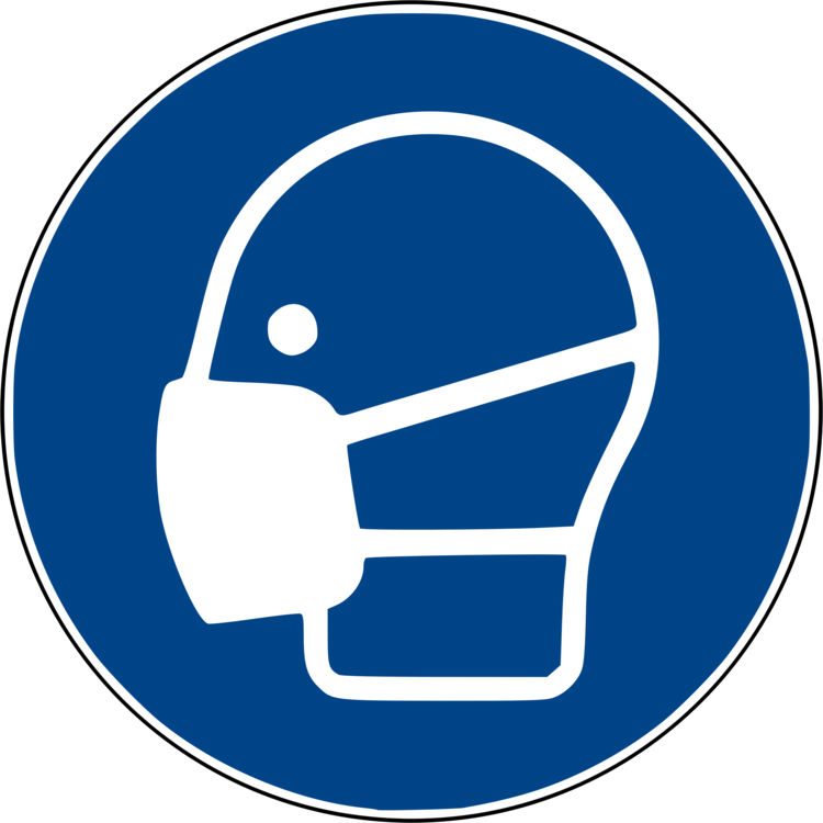 Face shield personal protective. Mask clipart symbol jpg library
