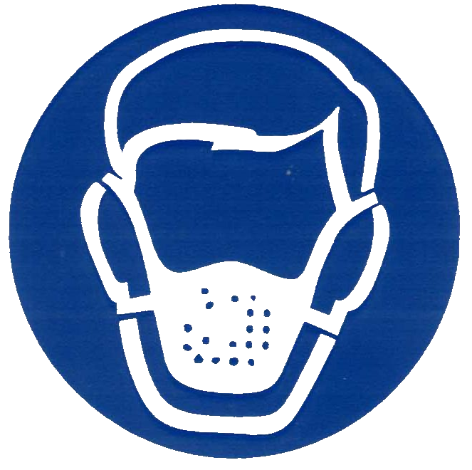 Mask clipart symbol. Free respiratory cliparts download