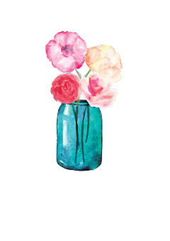Largest collection of free. Mason jar flowers png vector royalty free stock