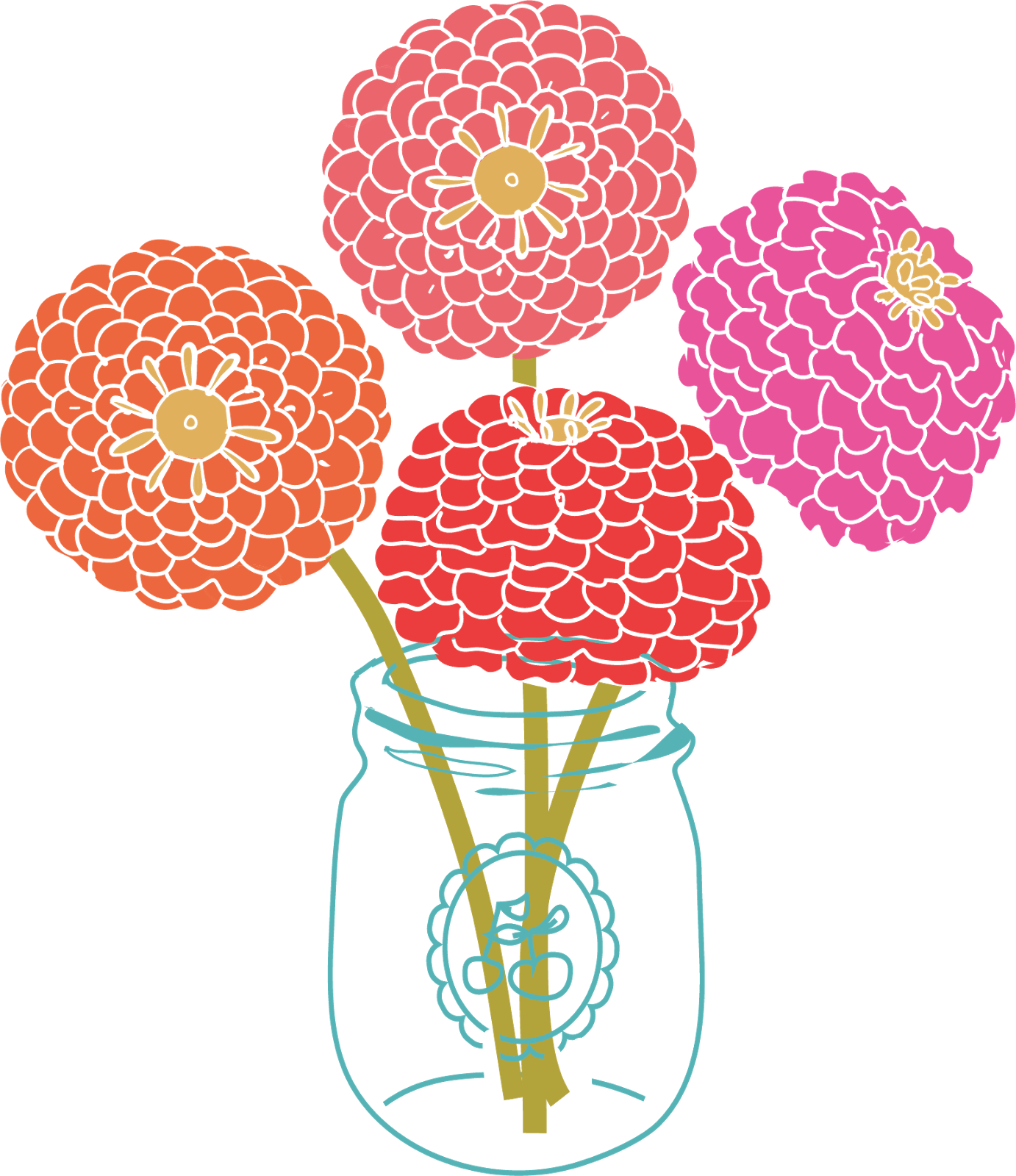 String nail art have. Mason jar with flowers png image royalty free download