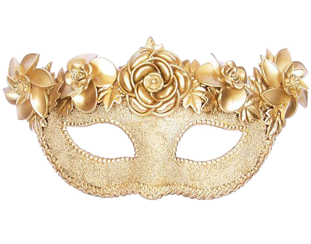 Masquerade ball dance png. Mask gold party ms
